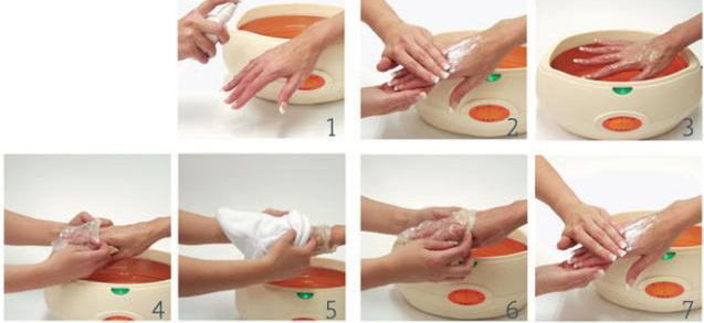 paraffin terápia a varikózisos lábaknál orvosi táplálkozás visszér ellen