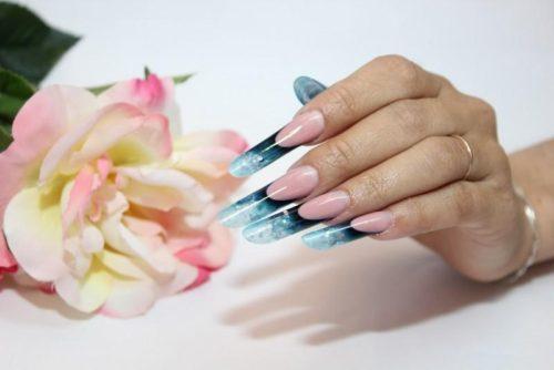 Как делать арочное моделирование ногтей