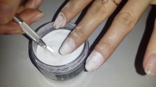 Укрепление ногтей акриловой пудрой - пошаговая инструкция