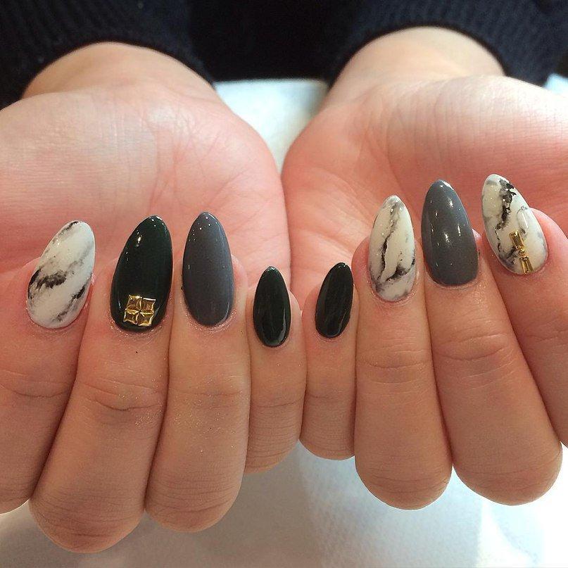 Новомодный дизайн ногтей 48