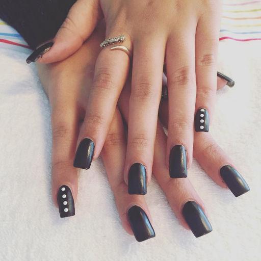 Квадратные или прямоугольные ногти